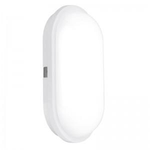 240V Polycarbonate IP65 20W Oval LED Bulkhead