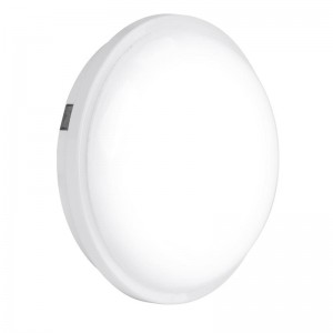 240V Polycarbonate IP65 20W Round LED Bulkhead