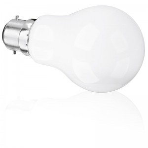 5W 360° Glass GLS Non-Dimmable B22 LED Lamp