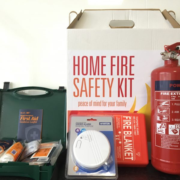 Home fire safety kit for Fire safety house