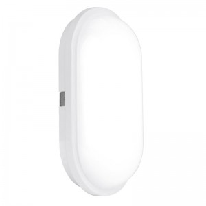 240V Polycarbonate IP65 20W Oval LED Bulkhead