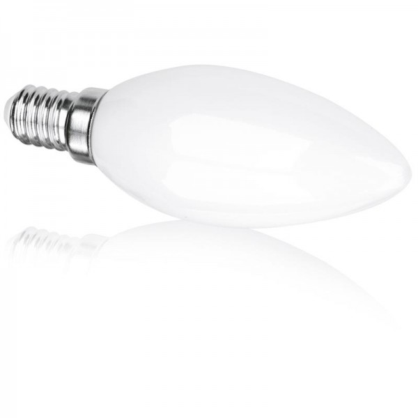 3W 360° Glass Candle Non-Dimmable E14 LED Lamp