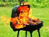 BBQ Fire Safety – How to avoid your BBQ going up in flames